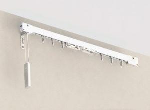 Алюминиевый профиль для штор с управлением фото
