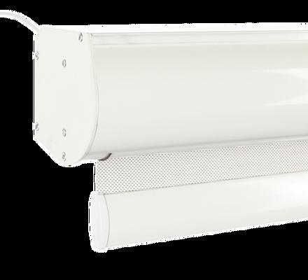 Рулонная штора с электроприводом фото