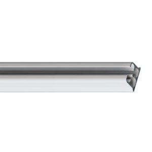 Профильный алюминиевый карниз для штор с управлением CKSГолландия цвет белый