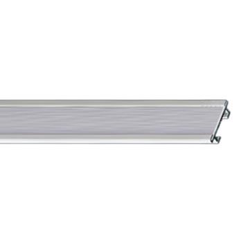 Профильный алюминиевый карниз для штор СТ-2003 цвет белый