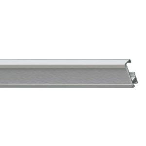 Профильный алюминиевый карниз для штор СТ-432002 (СТ-43) цвет белый