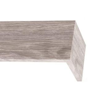 Багетный карниз для штор Скандинавия new цвет античный серый