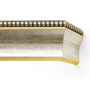 Багетный карниз для штор Лувр цвет золото античное