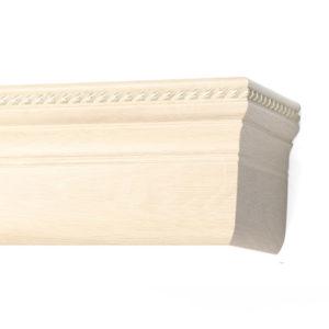 Багетный карниз для штор Олимп цвет античный белый