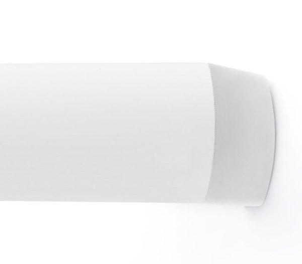 Багетный карниз для штор Сеул белый фото