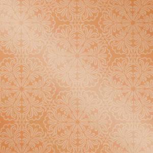 Рулонные кассетные шторы УНИ - Актуаль 111 оранжевый