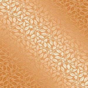Рулонные кассетные шторы УНИ - Актуаль 158 оранжевый