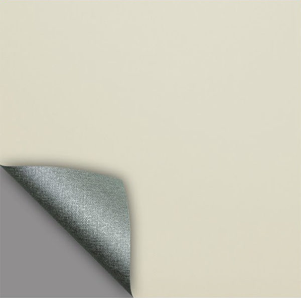 Рулонные кассетные шторы УНИ - Актуаль 186 Блэкаут бежевый